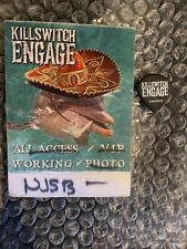 Killswitch Engage Guitar Pick Sticky Pass VIP Chub Dolphin