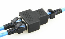 1 en 2 RJ45 Splitter Adaptador 1 a Hembra Doble Puerto Cat 5/Cat 6 LAN Ethernet UK
