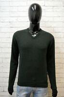 Maglione Uomo Americanino Taglia M Cardigan Pullover Vintage Maglia Sweater Man