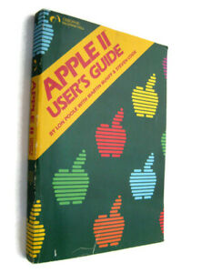 APPLE II 2 USER'S GUIDE Book (1981) Vintage Computer Manual Software Hardware