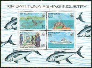 KIRIBATI – 1981   – TUNA FISHING INDUSTRY  – VF  **