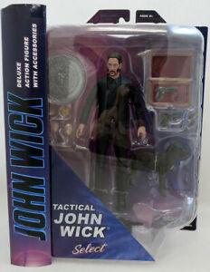 Tactical John Wick Deluxe Action Figure in Black Suit OCT192538 Diamond Select