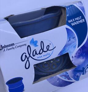 NEW 2014 Glade Wax Melts - Blue - Electric Scented Fragrance Wax Melt Warmer NIB