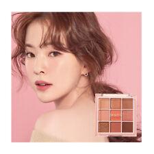 PEACH C Soft Mood Eyeshadow Palette #Soft Coral 9Colors Matte Glitter Eye Shadow