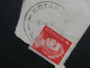 Kotara New South Wales Postmark -1967 on QEII 4c Red - Closed 1981