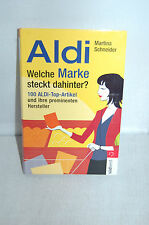 ALDI – Welche Marke steckt dahinter – Martina Schneider - TB