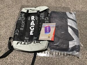 NEW Flexifoil 3.5m² RAGE Land Kite - Power Traction - 2021 - KITE & BAG ONLY
