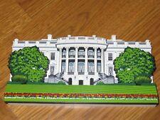 Shelia'S Decorative Wood Collectible The White House Washington D.C. 1998