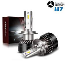 5000LM H7 LED Headlight Bulb 6000K Error Free Canbus Fit Ford Jeep GMC BMW 12V