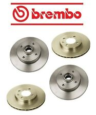 Volkswagen Jetta 97-99 Brembo Brake Kit Two Front + Two Rear Brake Rotors