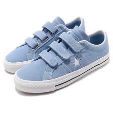 Converse One Star Pro 3V Blue White Men Women Strap Skate Boarding Shoes 162519C