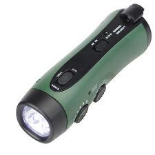Pocket manovella di emergenza torcia elettrica e FM / AM Siren Radio funzioneHot