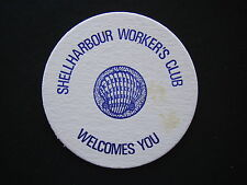 SHELLHARBOUR WORKER'S CLUB COASTER