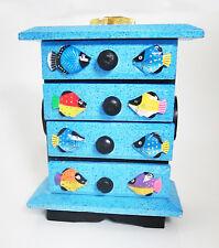Pequeño decorativo cómoda con cajones/Caja Almacenaje/Caja para joyería,
