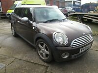 2008 MINI COOPER CLUBMAN 1.6 1/2 LEATHER HISTORY HEADGASKET ISSUE RUNS