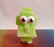 Moshi Monsters Halloween #28 ROCKY Green Moshling Mini Figure Mint OOP