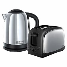 Russell Hobbs 21830 Lincoln Twin Pack 2 Slice Toaster and 1.7 Ltr Kettle