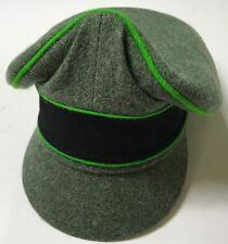 """WWII GERMAN WAFFEN M1938 WOOL VISOR """"CRUSHER"""" CAP,PANZER GRENADIER-LARGE"""