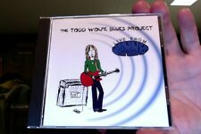 Todd Wolfe Blues Project- Live From Manny's Car Wash- CD- real nice