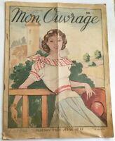 MON OUVRAGE 1949 N° 11 Blouson pour jeune fille
