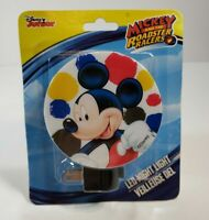 Disney Mickey Mouse And The Roadster Racers LED Night Light - New- Free Shipping