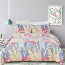 Duvet Cover Set Bedding 3 Piece Comfort Quality Beautiful King Size Soft Printed