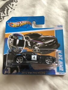 Hot Wheels Black BMW Z4 M