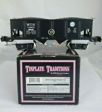 MTH O Scale Tinplate Traditions Black Hopper Car 10-8020 #2816