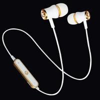 Wireless Bluetooth Headphone Sport Earphone Stereo Bass Headset Handsfree Earbud