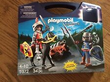 Playmobil 5972 Knights Carry Case from City Life Series New in Package!