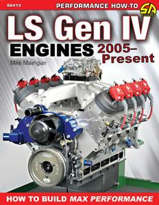 Ls Engine Gen Iv Build Max Performance Manual 2005- Present Book