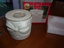 Lenox Nwt holiday christmas present new radiant light bow votive candle holder