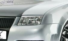 RDX Scheinwerferblenden schwarz matt für VW Bora