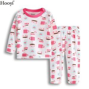 Baby Girl Polka Dot Pajamas Suit Nightshirt Children Clothes Baby Sleepwear 0-2Y