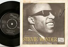 STEVIE WONDER FOR ONCE IN MY LIFE & ANGIE GIRL SWEDEN 45+PS 65 NORTHERN SOUL MOD