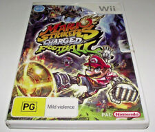 Mario Strikers Charged Football Nintendo Wii PAL *No Manual* Wii U Compatible