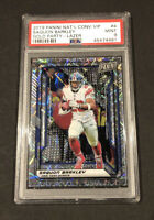 2019 Panini National Convention #4 Saquon Barkley VIP Gold Party Lazer PSA 9!