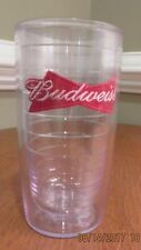 Budweiser Tervis Tumbler Plastic Insulated Drinking Cup 16 ounces