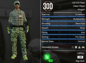 GTA 5 PS4-PS5  - MALE
