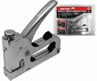 Dekton Staple Gun Heavy Duty Tacker with 800 Staples Upholstery Stapler