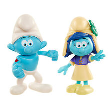 Smurfs The Lost Village 2 Figure Pack - Hefty Smurf and Smurfstorm