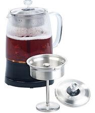 Théière-bouilloire 2 en 1 en verre avec filtre en acier inoxydable WSK-230 - Ro
