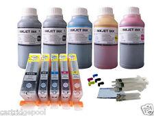 Refillable cartridges for Canon PGI-225 CLI-226 PIXMA MX712 MX882 MX892 +250ml