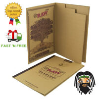 """The NEW """"RAWL BOOK"""" 480 Classic RAW Rolling Paper Tips - Collectors Item"""