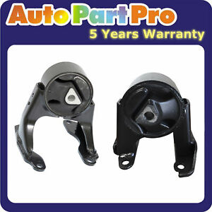 For Chevy Colorado GMC Canyon Hummer H3 Isuzu 5366 5397 Engine Motor Mount Set 2