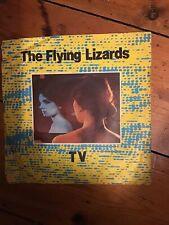 "THE FLYING LIZARDS - TV / Tube, vinyl 7"" Picture Sleeve 1980 Virgin Records EX"