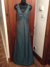 "BNWT Green House Of Fraser ""Roots"" BUSTLE Evening Dress Wedding 18"