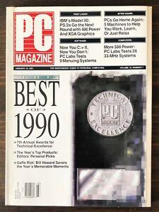 PC Magazine - January 15, 1991, Vol. 10, No. 1