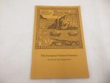1975 BOOK-THE EUROPEAN VISION OF AMERICA-NOTES ON THE EXHIBITION-CLE ART MUSEUM