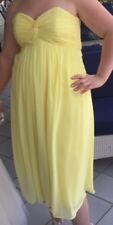 Lemon Bridesmaid Dress - UK Size 16